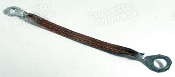 Accelerator Lever Ground Strap. 63-67