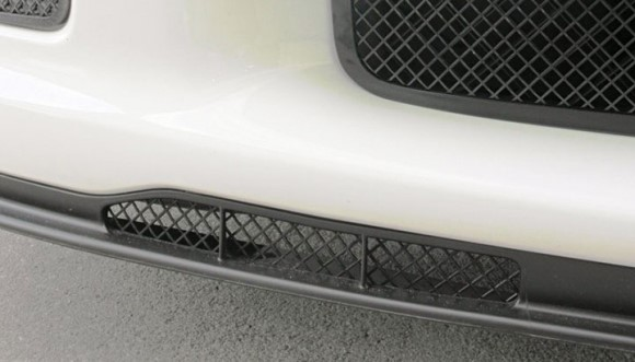 AIR DAM GRILLE. BL MESH. Z06/ZR1/GS